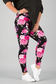 Pattern Print Leggings || 11