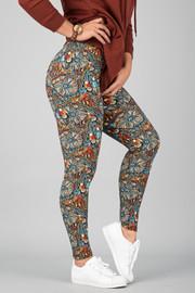 Pattern Print Leggings    15