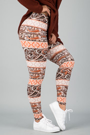 Pattern Print Leggings || 28
