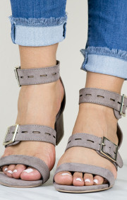 Janet Heels   Taupe