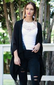 Madison Kimono | Black