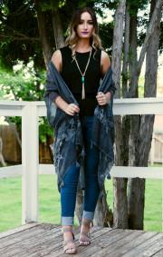 Cassi Kimono | Black