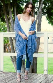 Cassi Kimono | Blue