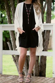 Madison Kimono | Ivory