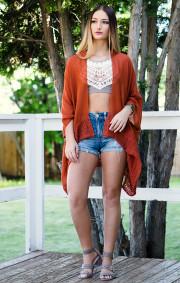 Madison Kimono | Rust