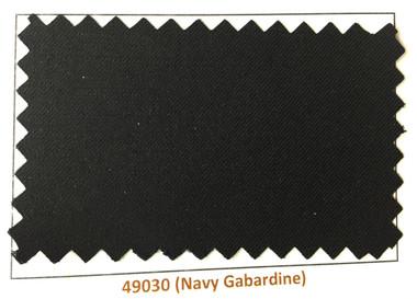 Navy Gabardine