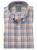 Enro Non-Iron Bristol Oxford Check Big & Tall Sportshirt