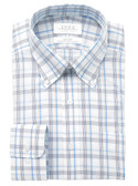 Enro Non-Iron Button Down Collar Fairfield Check Dress Shirt