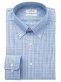 Enro Non-Iron Button Down Collar Malden Check Dress Shirt