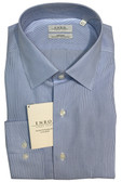 Enro Non-Iron Spread Collar Worcester Stripe Poplin Dress Shirt