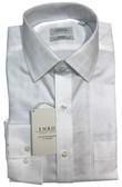 Enro Non-Iron Spread Collar Woburn Dobby Solid Check Dress Shirt