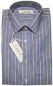 Enro Non-Iron Spread Collar Multi Stripe Dress Shirt