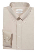 Enro Non-Iron Button Down Collar Solid Oxford Big & Tall Dress Shirt