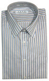 Enro Non-Iron Spread Collar Multi Stripe Big & Tall Dress Shirt