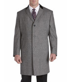Jean Paul Germain Wool Blend Chesterfield Top Coat