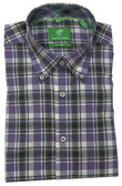 Forsyth of Canada Classic Fit Non-Iron Long Sleeve Multi Check Sport Shirt 8232-IRS
