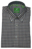 Forsyth of Canada Classic Fit Non-Iron Long Sleeve Multi Check Sport Shirt 8241-UMB