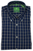 Forsyth of Canada Classic Fit Non-Iron Long Sleeve Multi Check Sport Shirt 8246-PCK