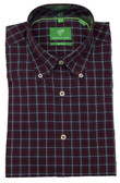 Forsyth of Canada Classic Fit Non-Iron Long Sleeve Multi Check Sport Shirt 8253-MUB