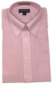 Enro/Damon Ultra Poplin Button Down Collar Light Pink Check Dress Shirt - 150084