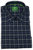 Forsyth of Canada Classic Fit Non-Iron Long Sleeve Multi Check Sport Shirt 8243-DNM