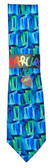 Jerry Garcia 'New York At Night' X-Long Tie