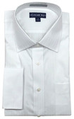 Enro/Damon Dobby Spread Collar Tonal Stripe Big & Tall Size Dress Shirt - 153523