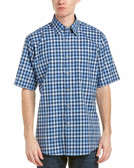 Forsyth of Canada Classic Fit Non-Iron Short Sleeve Multi Check Sport Shirt 8144S-IND