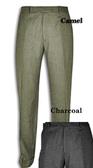 Austin Reed 100% Wool Flannel Flat Front Dress Pants