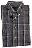 Fusion Brown/White Plaid Sportshirt