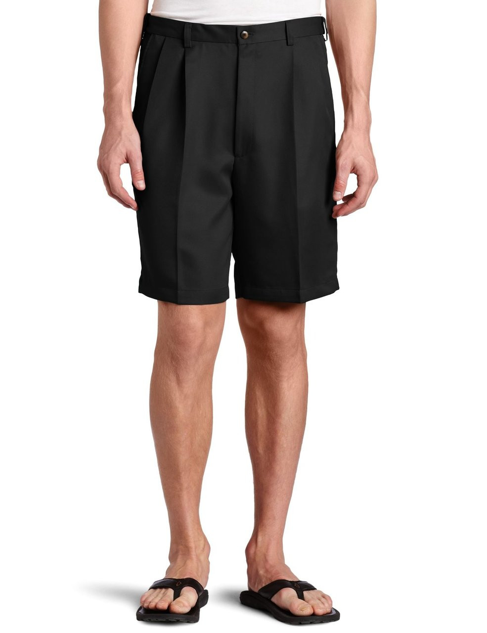 Haggar Comfort Fit Waist Cool 18 Pleated Front Big Size