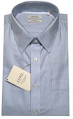 Enro Non-Iron Regular Collar Blue Herringbone Stripe Dress Shirt