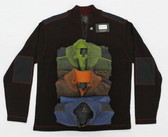 FX Fusion 1/4 Zip Tweed with Trim Sweater