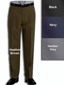 Haggar Gabardine Comfort Luxe Flat Front Men's Dress Pants