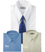 Enro/Damon Ultra Poplin Regular Collar Solid Color Big Size Dress Shirt