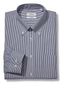Enro Non-Iron Button Down Collar Bengal Stripe Big Size Dress Shirt