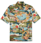 Tori Richard Boat Day Aloha Cotton Lawn Shirt