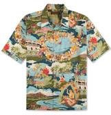 Tori Richard Boat Day Aloha Cotton Lawn Shirt