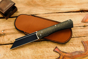 Norse Artefakt: Mini Druzil Friction Folder with Carbon Fiber Handles A