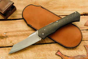 Norse Artefakt:  Skarven Friction Folder with Carbon Fiber Handles B
