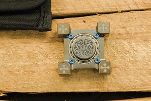 Steel Flame: Ring Spinner/Slug Combo - Crusader Frame, Double Lion Spinner/Slug