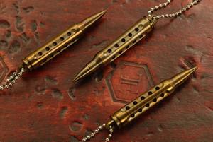 SK Knives 223 Titanium Danglers Bronze