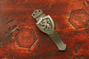 Steel Flame/Emerson Knives Crusader Cross Lion Shield