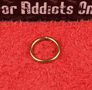 """Gold Split Ring 20g 5/16"""""""
