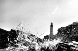 Black & White Splash