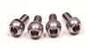 Bolts 5 x .8 mm stainless water bottle/rack
