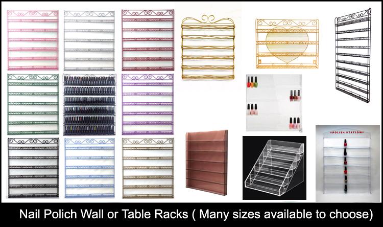 Nail Polish Racks