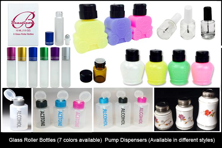 pump & rollon Bottles