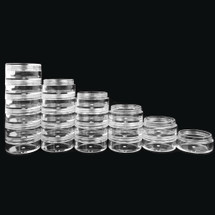 5G/5ML & 10G/10ML Stackable Jars with Lid