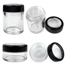 10G/10ML Plastic Round/Cylinder Cosmetic Powder Sifter Jar